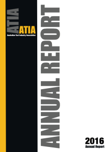 ATIA ANNUAL REPORT COVER 2016 Front Outside (Colour)